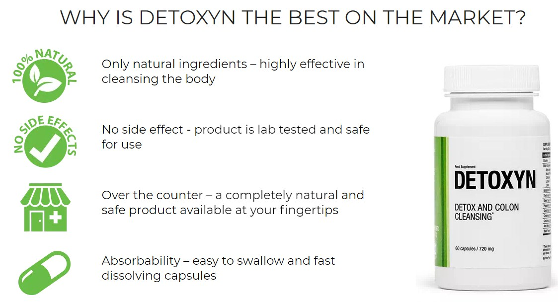 Detoxyn natural remedy against parasites